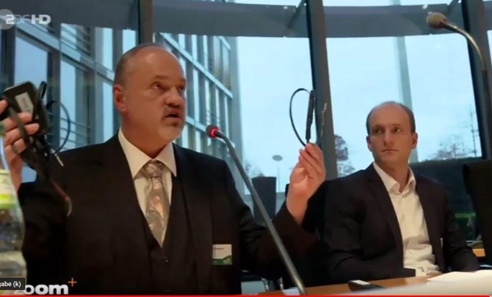 Andreas Mossyrsch im Bundestag